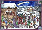 Colorful Nativity German Christmas Advent Calendar