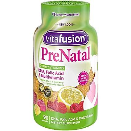 se pueden tomar las vitaminas prenatales en la noche