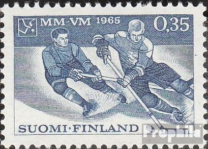 Finland 594 (complete.issue.) unmounted mint / never hinged 1965 Hockey WM (Stamps for collectors) (594 Mint)