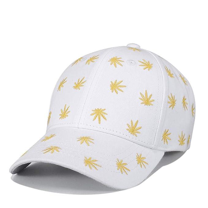 YX&SH Hojas de Cannabis Gorras de béisbol Unisex Sombreros ...