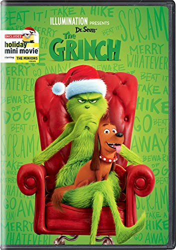 Illumination Presents: Dr. Seuss' The Grinch (cover may vary) (Narrator For Story Christmas)
