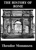 History of Rome by Theodor Mommsen front cover