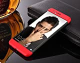 Honor 8 Cover 3in1 Dual Hybrid Hard Back Cover Shock Absorber 360 Protection Rugged Case For Honor 8 Red-Black