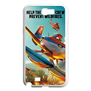 Planes Fire Rescue Samsung Galaxy N2 7100 Cell Phone Case White T4387395