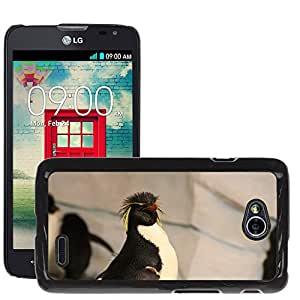 Etui Housse Coque de Protection Cover Rigide pour // M00134216 Pingüino Pingüino de Rockhopper // LG Optimus L70 MS323