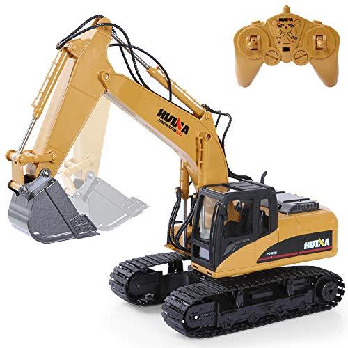 RC Excavator Construction...
