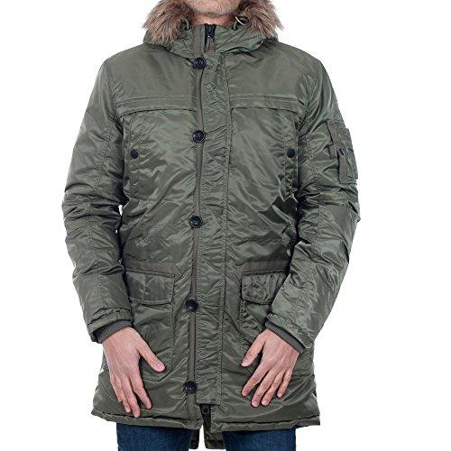 Parka Jacket Dusty Olive Jordate 12110126 Plumífero Verde Jack Hombre amp;jones qqYw08