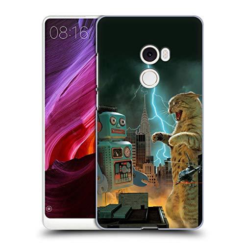 Official Vincent HIE Catzilla VS Robot Felidae Hard Back Case Compatible for Xiaomi Mi Mix 2