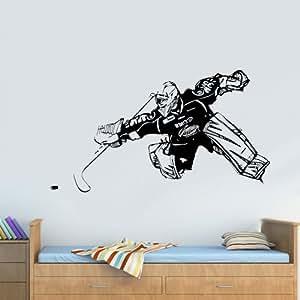 Amazon Com Wall Decal Vinyl Sticker Decals Hockey Player
