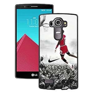 Hot Sale LG G4 Case ,Michael Jordan Black LG G4 Cover Case Unique Popular Designed Phone Case