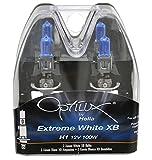 Optilux Hella H71070227 XB Series H1 Xenon White Halogen Bulbs, 12V 100W, 2 Pack