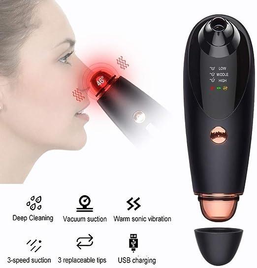 ZUCAI Limpiador Aspirador de poros extracto de acné extracto de ...