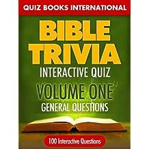 Bible Trivia Interactive Quiz Book: 100 General Questions