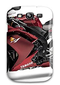 Protective Tpu Case With Fashion Design For Galaxy S3 (yamaha R1)