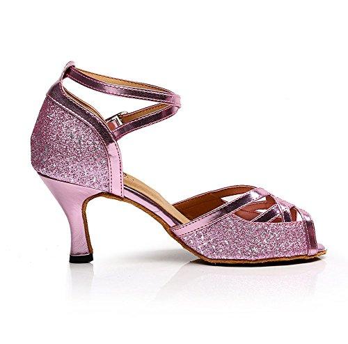 De Zapatos Baile Internacional De Baile Rojo De De De Sandalia Mujeres Salón Baile Zapatos WYMNAME Latino Zapatos Estándar Salón 5gBaaw