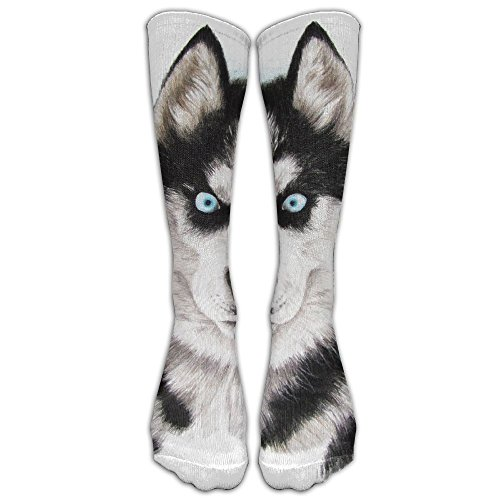 Fierce Husky Stockings Long Tube Socks, Great Quality Classics Knee High Socks Sports Socks For Women Men