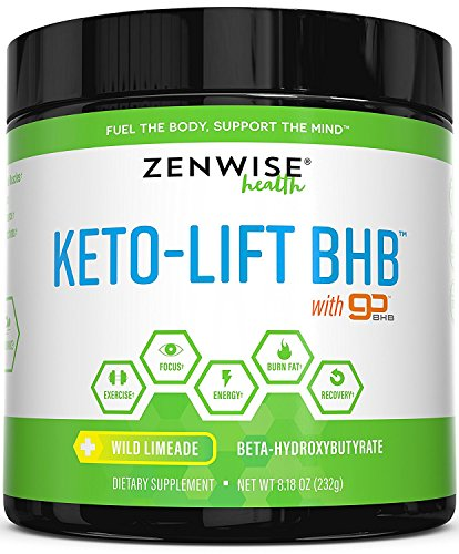 Keto BHB Salts Supplement with goBHB - Beta Hydroxybutyrate Ketones to Achieve Perfect Ketosis - Sodium, Calcium & Magnesium for Workouts & Weight Loss + Energy & Focus - Wild Limeade - 8.18 OZ