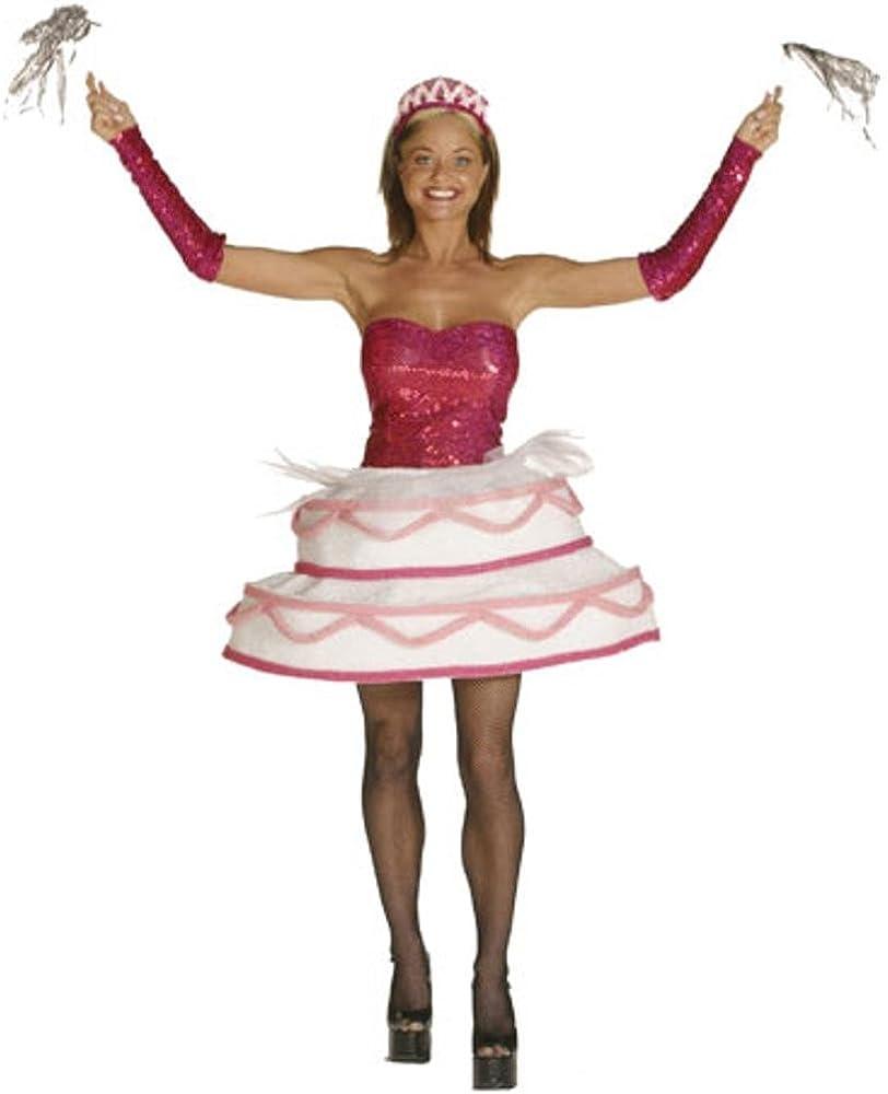 Adult Sexy Birthday Cake Costume (Size: Standard 6-10)