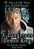 A Dangerous Demon King (The Sentinel Demons Book 4)