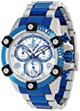 Invicta Men's 13714 Arsenal Chronograph Mother of Pearl Dial Two Tone Stainless Steel Watch, Watch Central