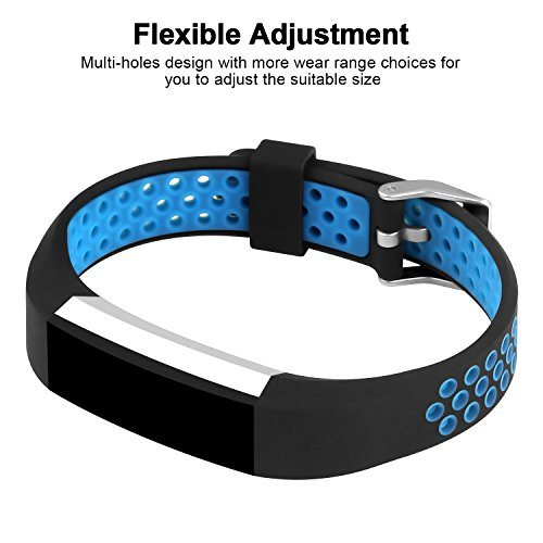 iGK For Fitbit Alta Bands Fitbit Alta HR Bands, Newest Adjustable Sport Strap Replacement Bands For Fitbit Alta Fitbit Alta HR Smartwatch Fitness Wristbands