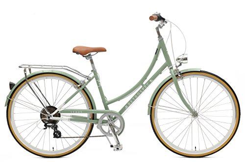 Retrospec Venus Dutch Step-Thru City Comfort Hybrid Bike, Mint, 7-Speed/44cm, m/l For Sale