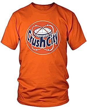 Crush City H-Town Astrodome Retro Distressed T-Shirt