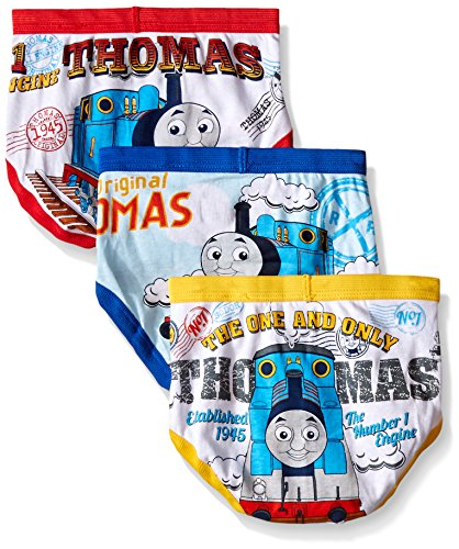 Thomas the Train Toddler Boys' Briefs 7 Pair Pack (2T/3T)