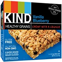 15-Count Kind 1.2 Ounce Healthy Grains Granola Bars (Vanilla Blueberry)