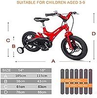 TUN Bicicleta de carretera para niños, marco de aleación de ...