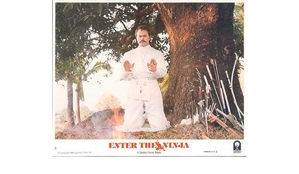 Franco Nero in Ninja outfit praying Enter the Ninja original ...