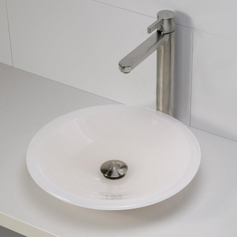 Superb DECOLAV 2804 MST Nadine Incandescence Round Vessel Sink, Mist   Sink Bath    Amazon.com