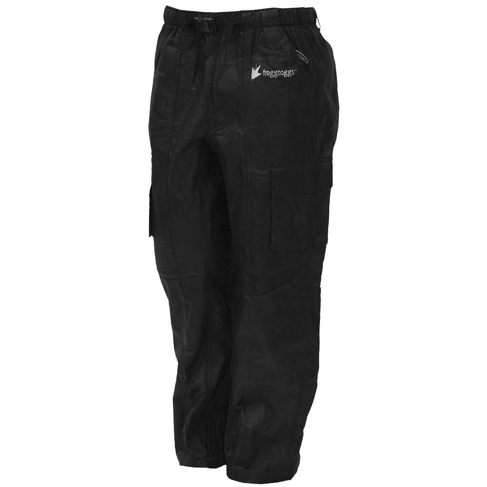 Frogg Toggs TT8039-012X Tekk Toad Cargo Pant, Black, Size 2X-Large-Large by Frogg Toggs