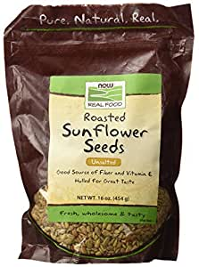 NOW Foods Hulled Raw Sunflower Seeds