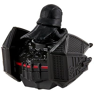 Hot Wheels Star Wars Kylo Ren Tie Silencer Vehicle: Toys & Games