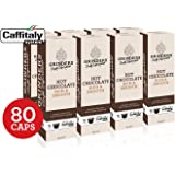 Grinders Coffee Caffitaly Compatible Capsules, 80 Hot Chocolate Capsules