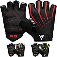 RDX Weight Lifting Gloves for Gym Workout, Breathable with Padded Anti Slip Palm Protection, Great for Fitness