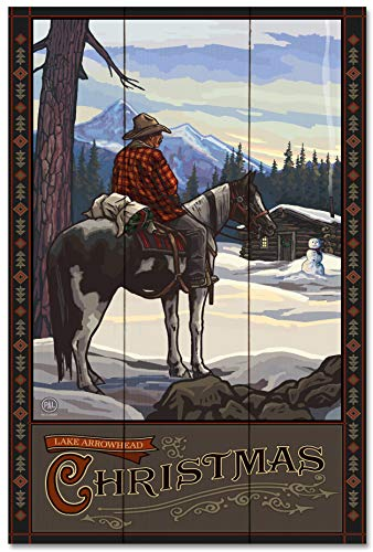 Lake Arrowhead Wood Art Print by Paul A. Lanquist (24