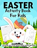 Easter Activity Book For Kids Ages 4-8: A Fun Kid