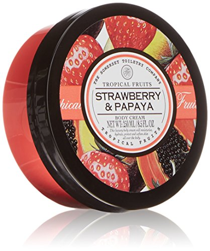 Papaya Strawberry - Strawberry Papaya Asquith Tropical Fruits All Over Body Moisturizer