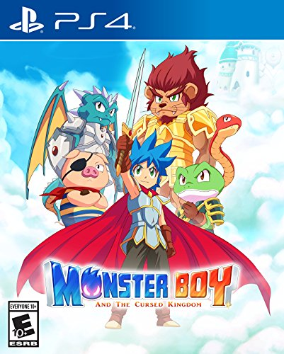 Monster Boy and the Cursed Kingdom - PlayStation 4 by FDG Entertainment