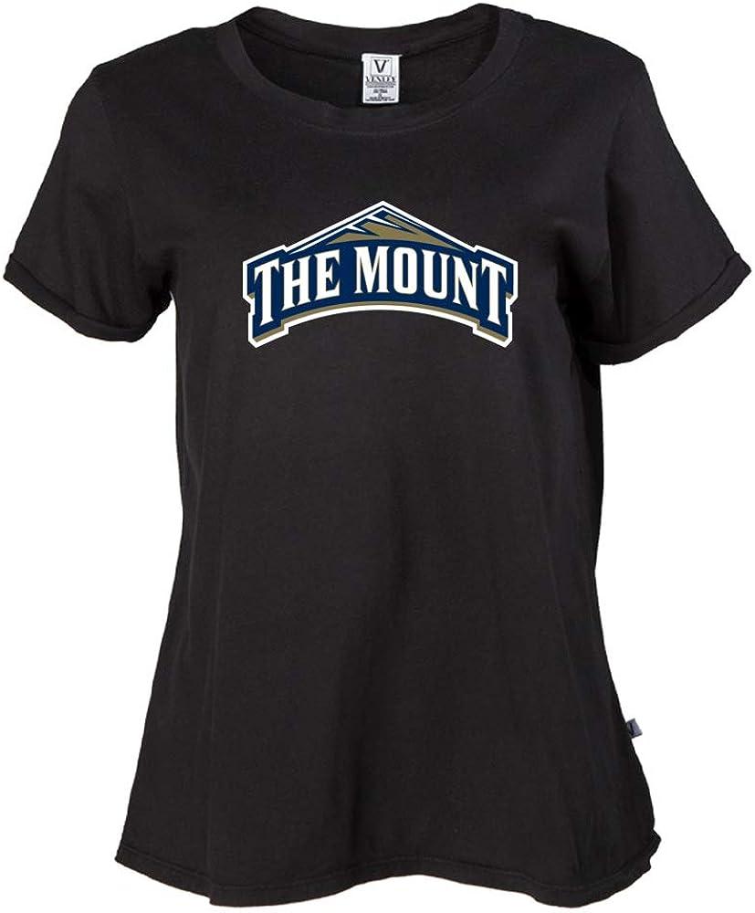 NCAA The Mount Mountaineers RYLMMU06 Womens Crop T-Shirt