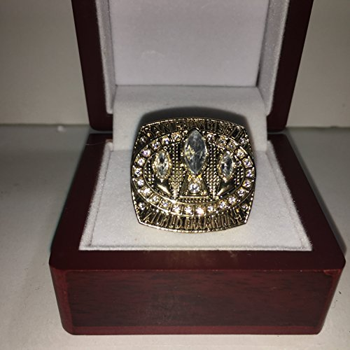 1988 Jerry Rice San Francisco 49ers High Quality Replica 1988 Super Bowl XXIII Ring Size 10.5-Gold & Red Logos US SHIPPING (49ers San Francisco Bowl Super)