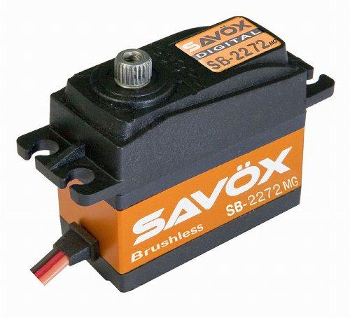 Savox SB-2272MG Lightning Speed Brushless Metal Gear Standard Digital Servo High Voltage