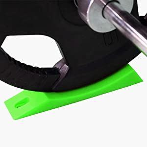 Greententljs Barbell Jack Line - Deadlift Barbell Jack Alternative for Efficiently Load and Unload Barbell and Plates for Home Gym & Deadlifts, Powerlifting, Fitness Athletes