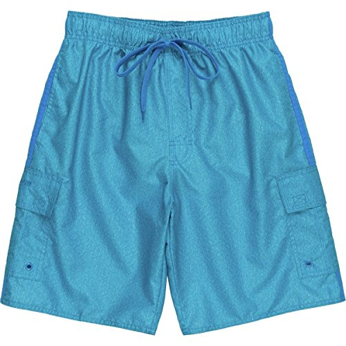 Laguna Men's Locked In E-Boardshort Ocean Blue XX-Large 00 Ipod