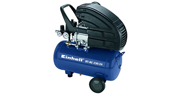 Einhell 4010350 Compresor, 1500 W, 230 V, Negro, Azul: Amazon.es: Bricolaje y herramientas