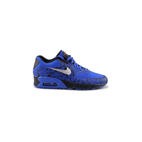 Nike Botas de fútbol para Niños, Azul (Racer Blue/Mtllc Silver-Blck), 35 1/2 EU: Amazon.es: Zapatos y complementos