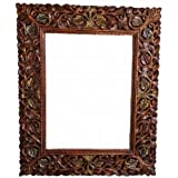 Shilpi Wooden Mirror/Photo Frame with Antique Look