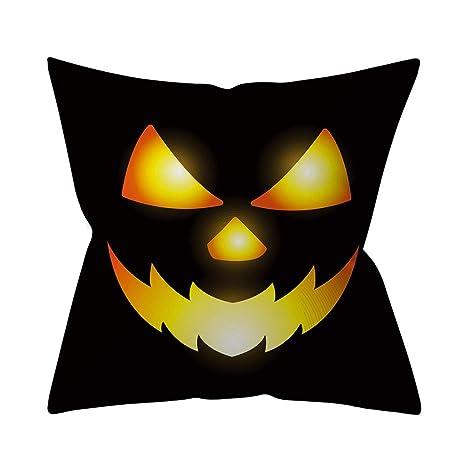 Loolik Funda de cojín, Funda de Almohada para Halloween ...